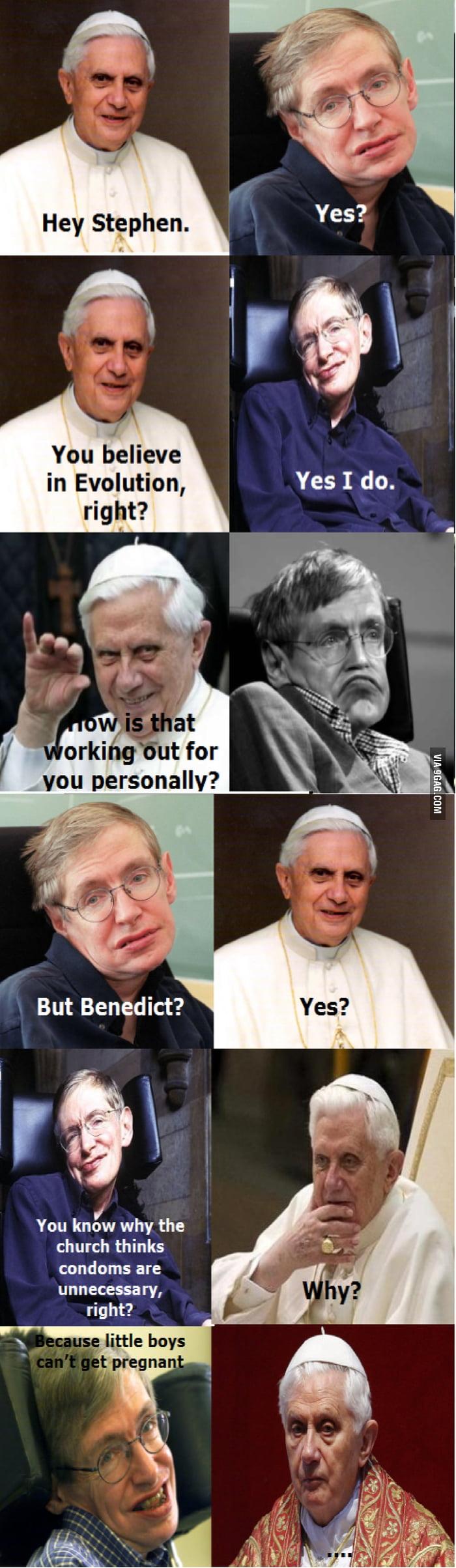 Stephen Hawking don't f*cking play