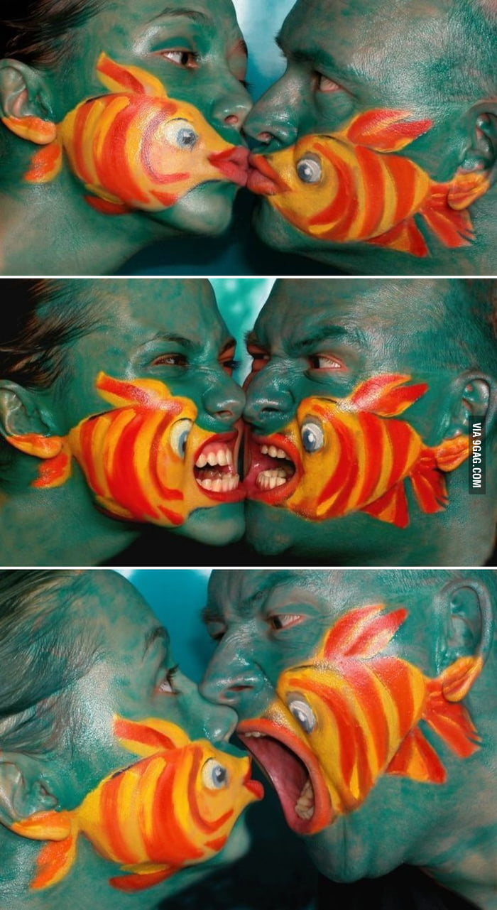 Something fishy about this couple