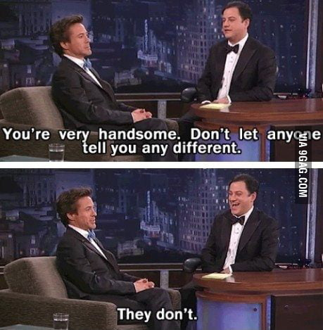 Just Robert Downey Jr being awesome!