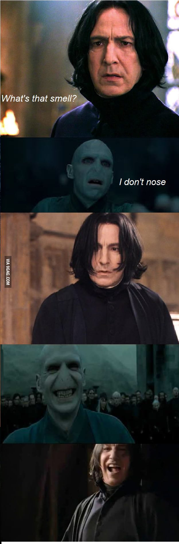 Voldemort, funny guy!