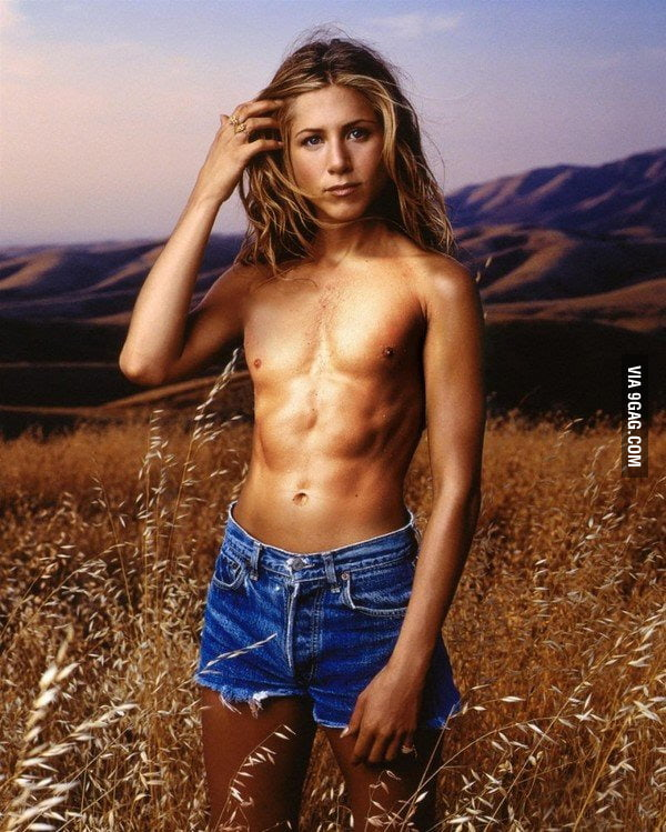 "So I googled ""Topless Jennifer Aniston""..."