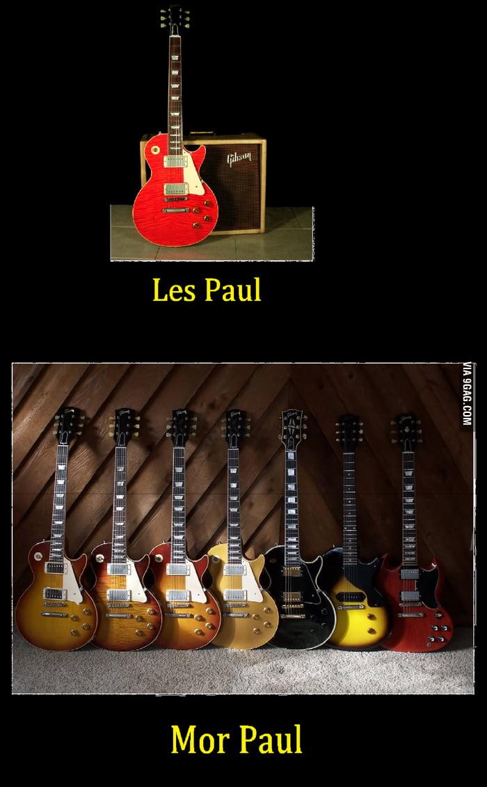 Les Paul + Les Paul + Les Paul...