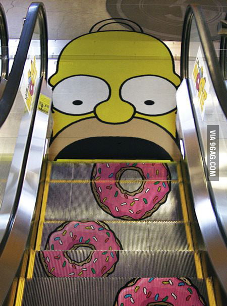 I wanna go on that escalator :D