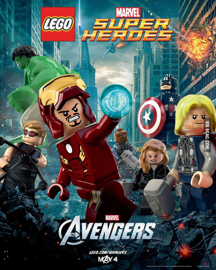 The Avengers, in LEGO