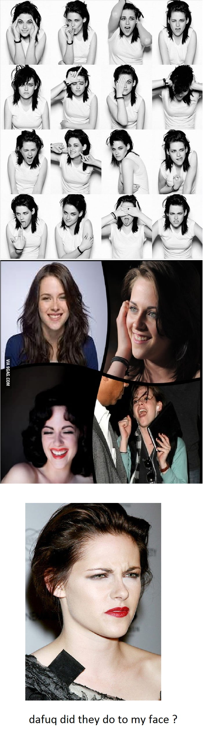 Photoshop Lvl over 9000 : Kristen Stewart