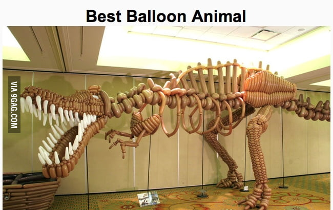 Balloon Dinosaur