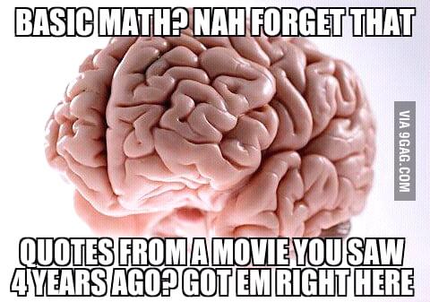 Scumbag useless knowledge