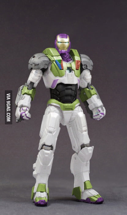 Iron Buzz Lightyear