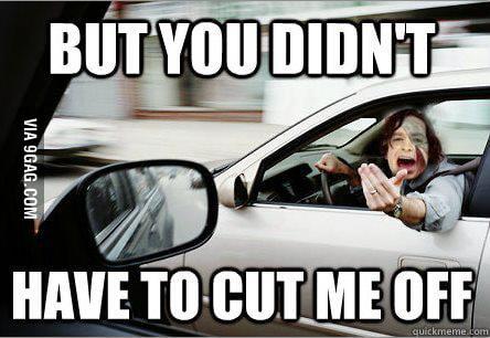 Gotye in traffic