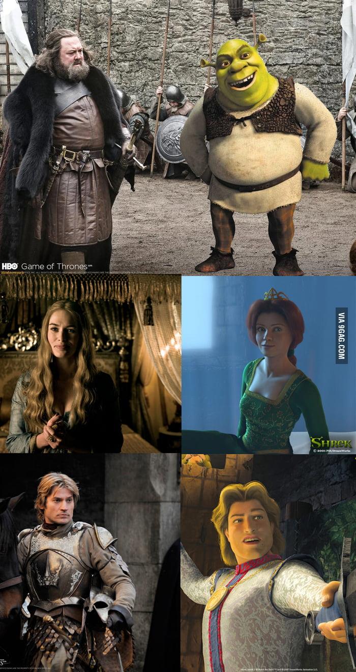Game Of Shrek Thrones - 9GAG