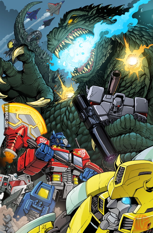 Godzilla vs The Transformers