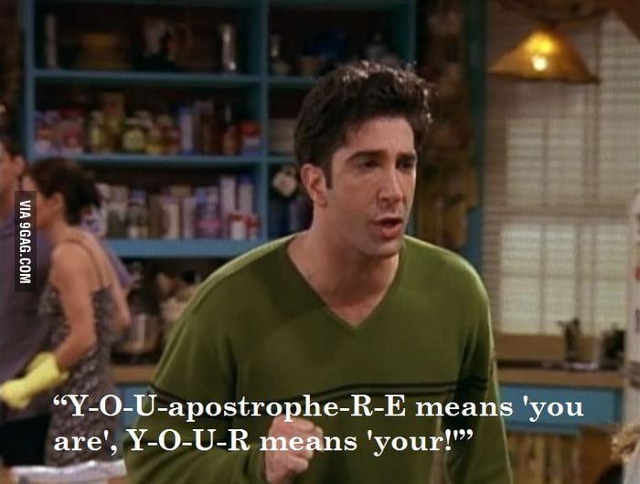 Ross Being Ross