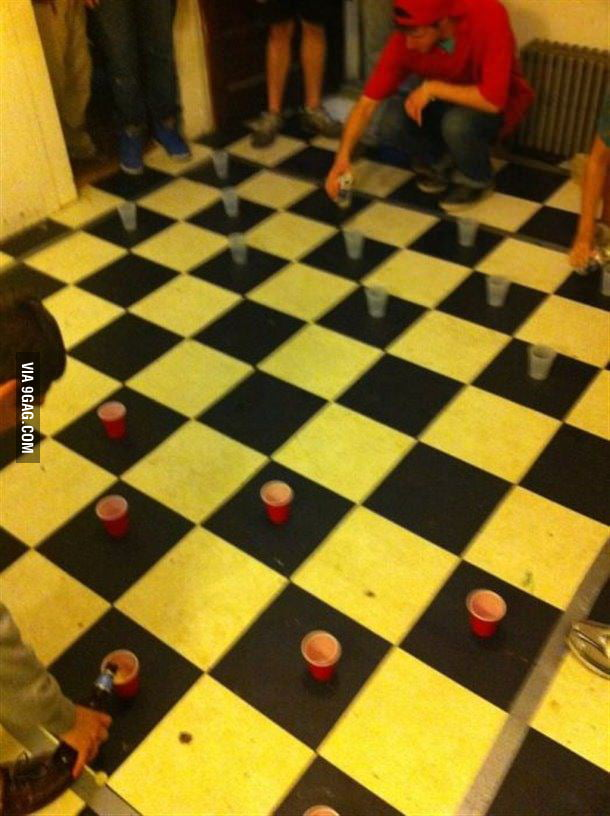 When beer pong isn't enough...