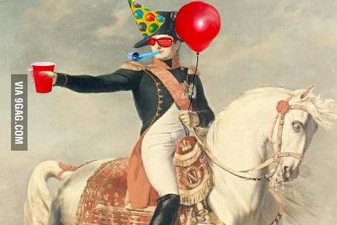 Risultati immagini per Napoleon Born2party