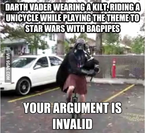 Your argument is invalid.