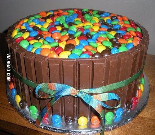 Just my birthday cake