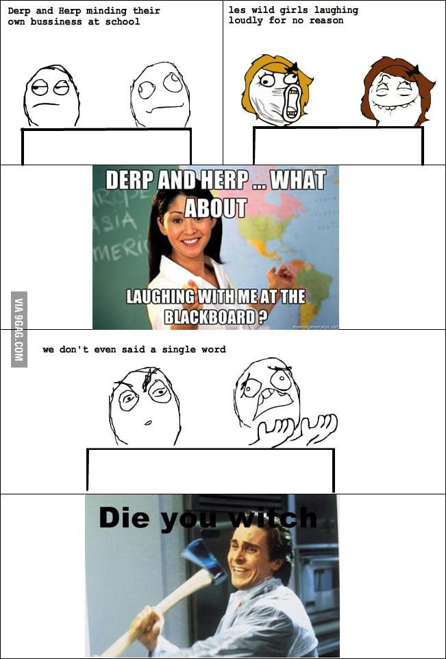 Scumbag teachers everywhere