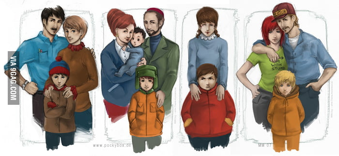 South Park Families