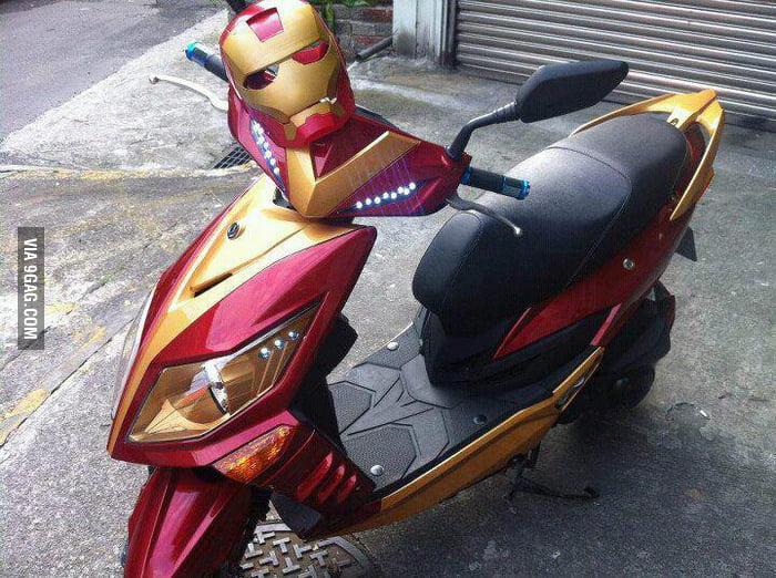 Iron Man Scooter!