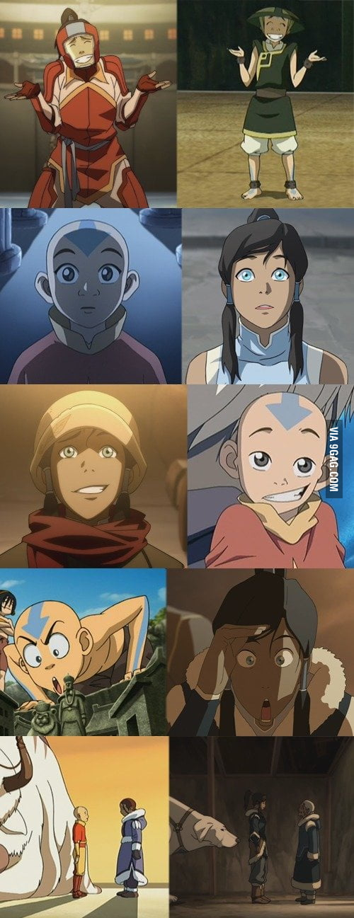 Avatar expressions across lifes!