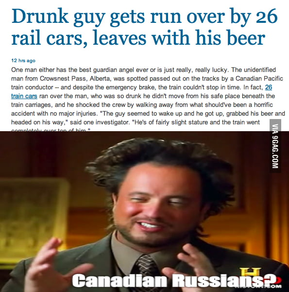 Russians have invaded Canada