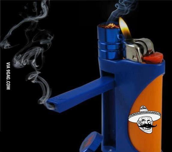 Just a lighter wait a sec..
