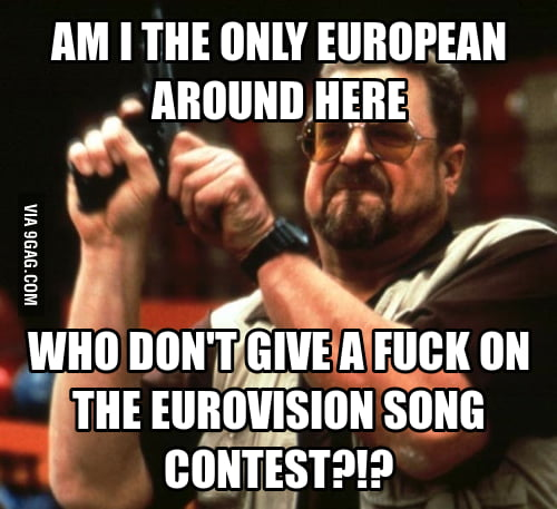 I hate the Eurovision Song Contest