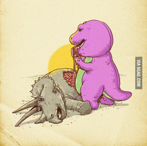 How Barney Survived the Apocolypse