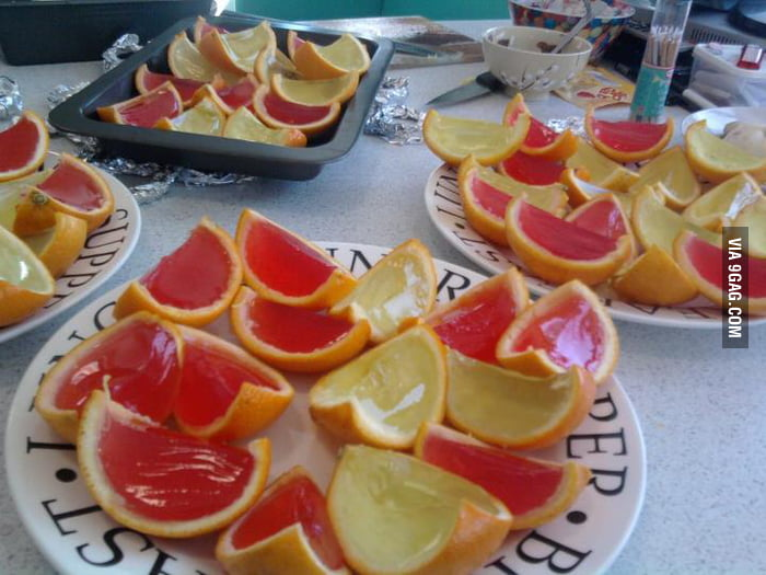 Needed jelly shots for a summer party...