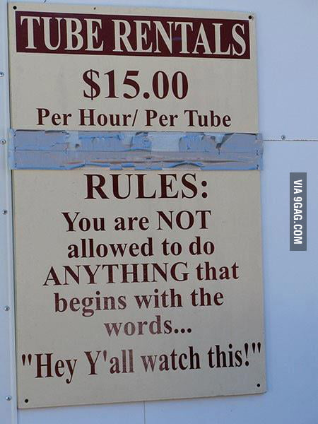Simple Texas Rules