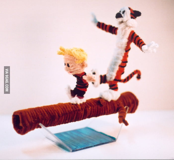 Made out of pipe cleaners!