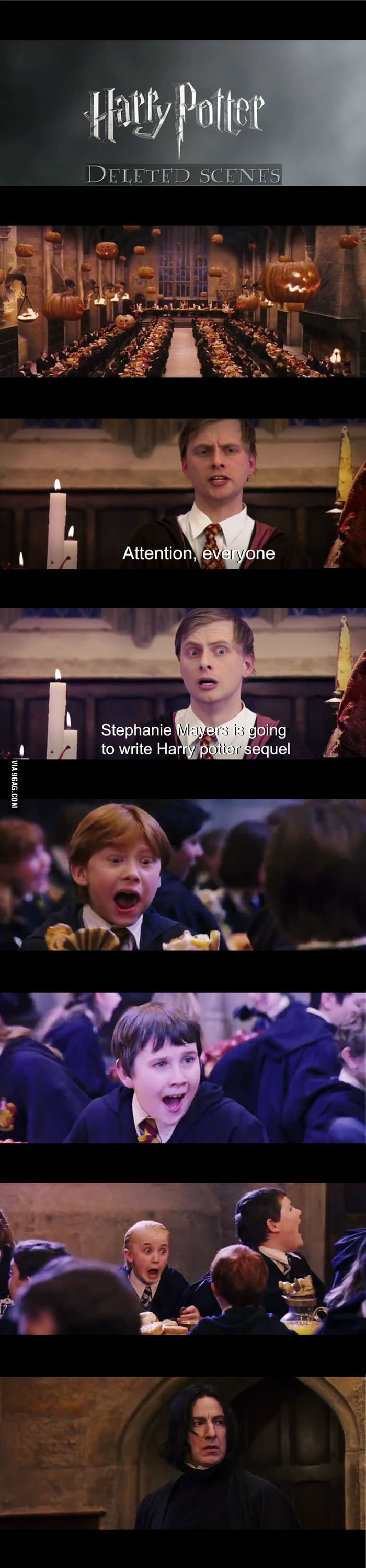 Deleted Scenes from Harry Potter