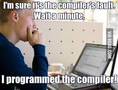 Programmer just being... Programmer!