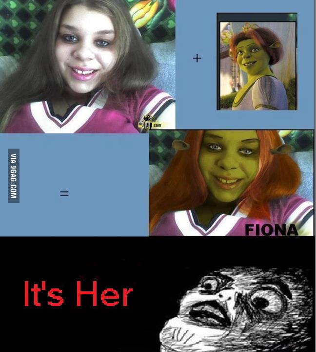 It's Fiona!