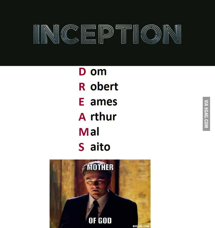 Ever thought about Inception character - 38.8KB