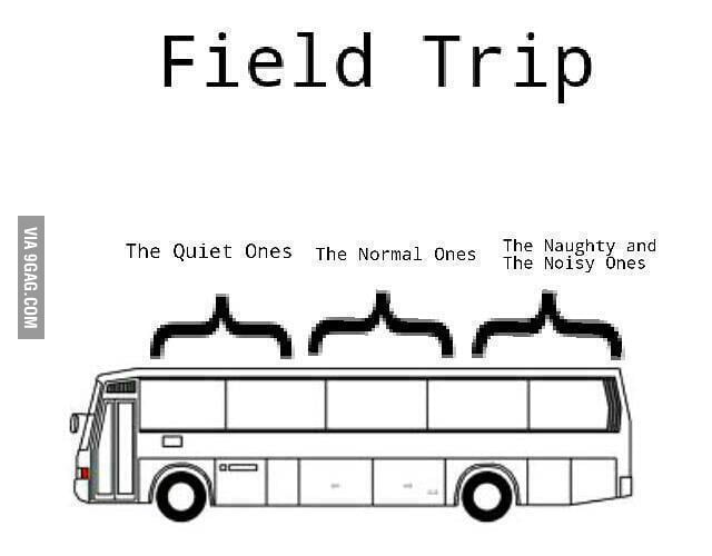Everytime during a field trip