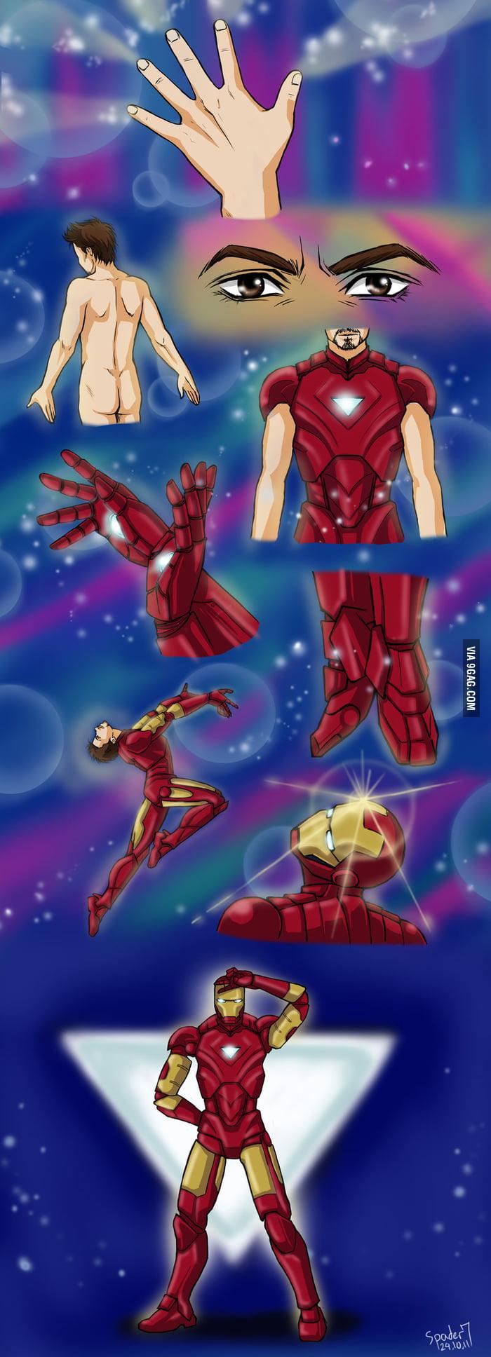 Iron Sailor Moon Man