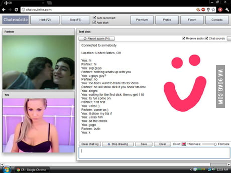chat roulette cam gay