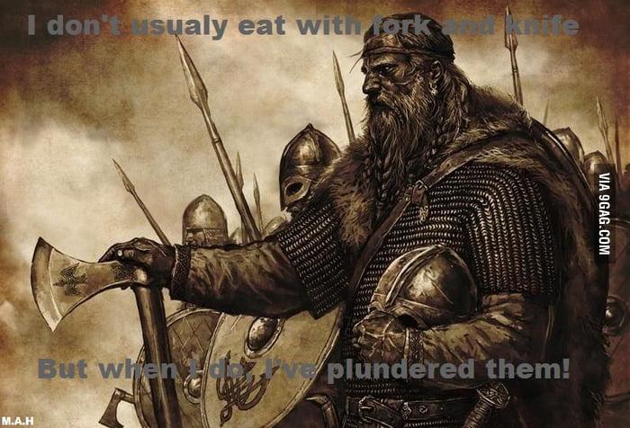 proud viking meme 9gag