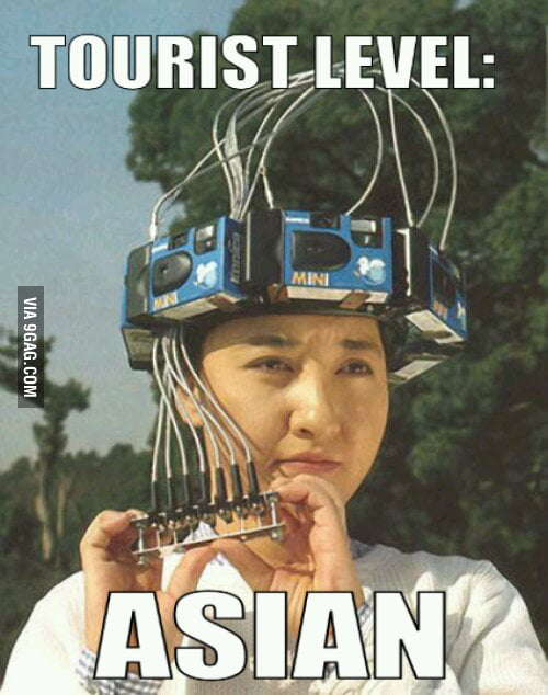 Just Asians!