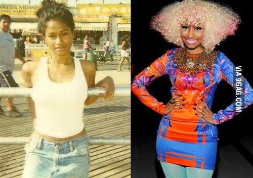 Nicki Minaj before she became a stupid hoe... - 9GAG