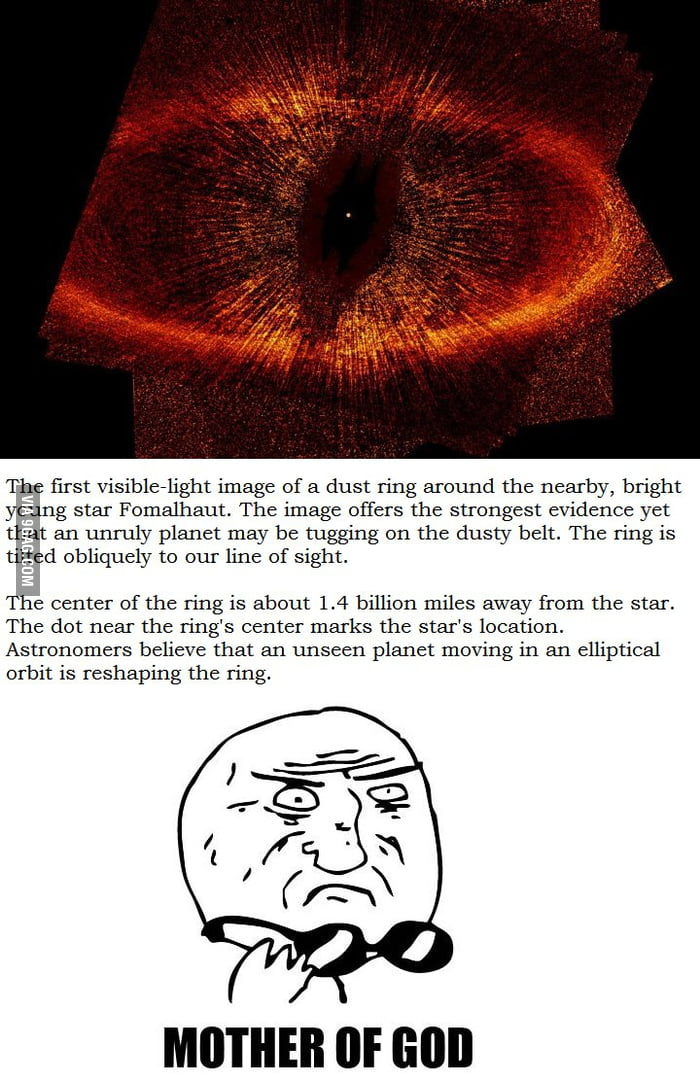 The eye of Sauron is real