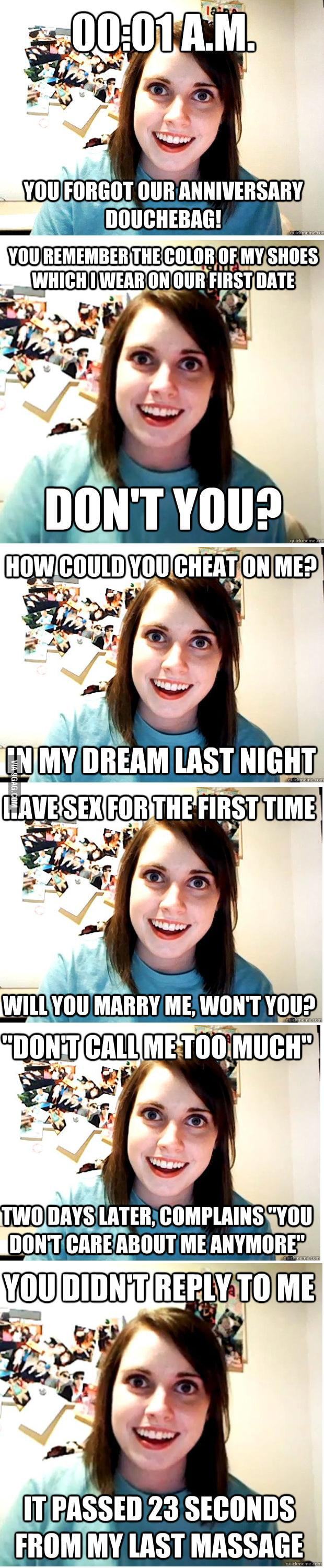 Overly Attached Girlfriend loves you so much