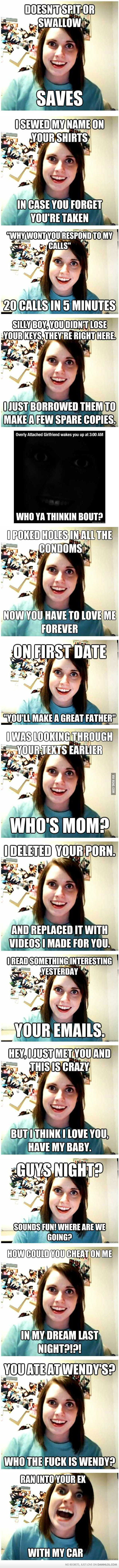 Overly Attached Girlfriend Compilation