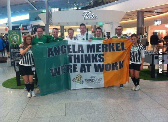 That's why I like the Irish