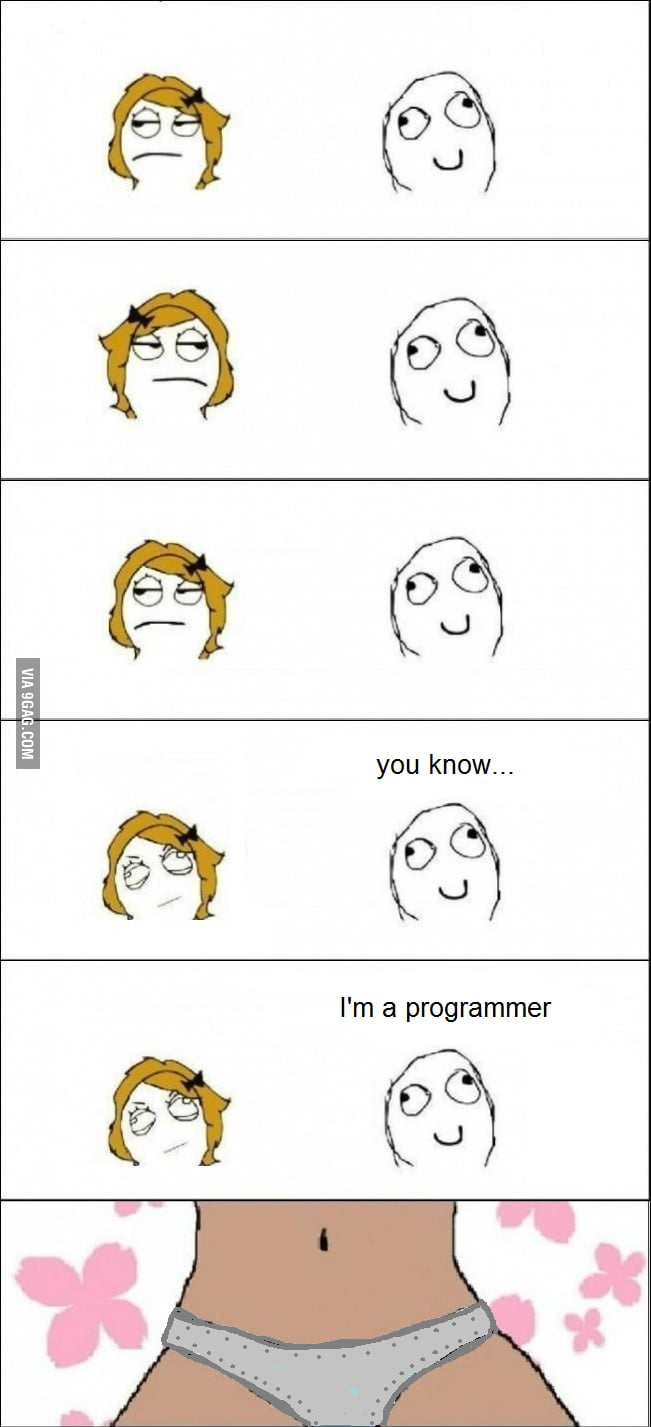 Programmers will know...