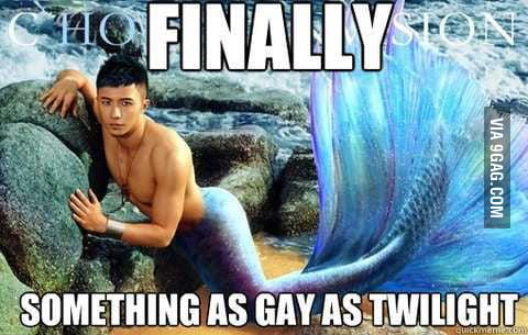 Not gay enough?