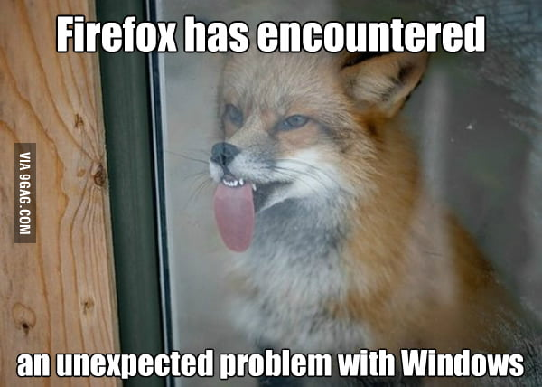 Firefox and Windows