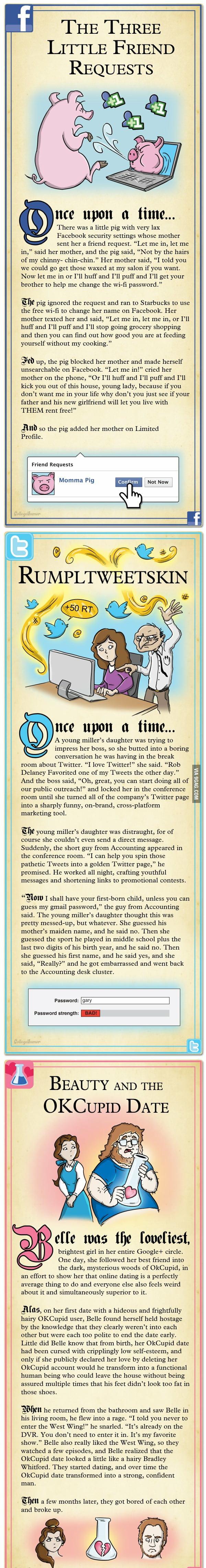 Internet Fairy Tales part 1