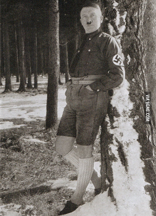 Just Hitler being Fabulous
